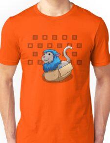 Derpkitty sits Unisex T-Shirt