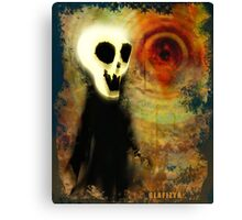 Glafizya Halloween Creepy Guy Canvas Print