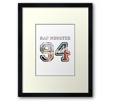 BTS Rap Monster Framed Print