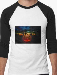 Halloween Fright Night Men's Baseball ¾ T-Shirt