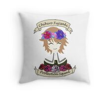 Chihiro Fujisaki Protection Squad Throw Pillow