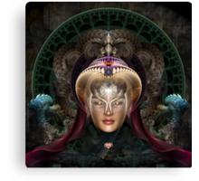 Maikia - Mystic Guardian Of Evxlore Canvas Print