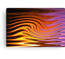 Flame and Fire Vector - Colorful Background Canvas Print