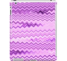 Purple Background - Colorful Patterns iPad Case/Skin