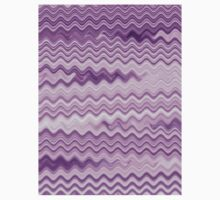 Purple Background - Colorful Patterns Kids Clothes