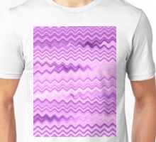 Purple Background - Colorful Patterns Unisex T-Shirt