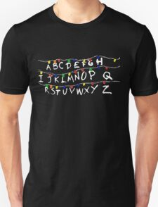 Strange Christmas Light and Weird Things Holiday Art Unisex T-Shirt