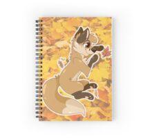 Fall Fox Spiral Notebook