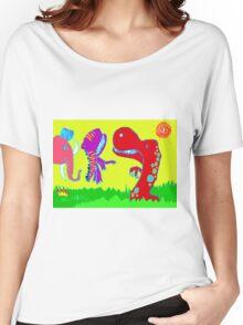Sizzlining Fun in Scorching Sun  Women's Relaxed Fit T-Shirt