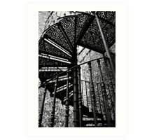 Stair to heaven Art Print