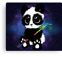 Galaxy Panda Canvas Print