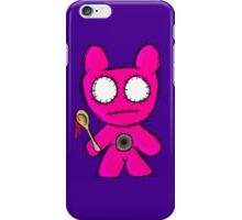 Pink Zombie Bear iPhone Case/Skin