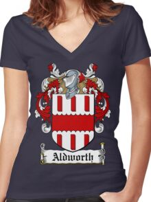 Aldworth (Co, Cork) Women's Fitted V-Neck T-Shirt