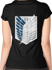 Survey Corps Women's Fitted Scoop T-Shirt