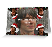 Merry Christmas from Brian Greeting Card