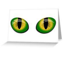 Big eyes  Greeting Card