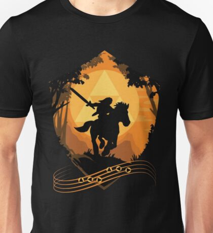 Legend of Zelda: Ocarina of Time - Epona's Song Unisex T-Shirt