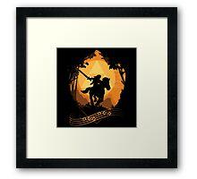 Legend of Zelda: Ocarina of Time - Epona's Song Framed Print