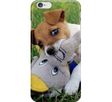 What!? He started it!! iPhone Case/Skin