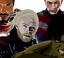 Avengers by rouseyburga