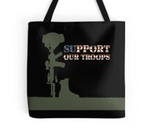 Support our Troops - Fallen Soldier Tote Bag