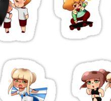 Magical Girl School Chibi Set Sticker