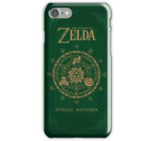 Hyrule Historia Phone Wallet iPhone Case/Skin