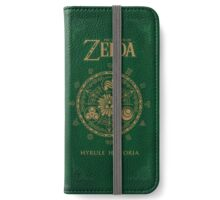 Hyrule Historia Phone Wallet iPhone Wallet/Case/Skin