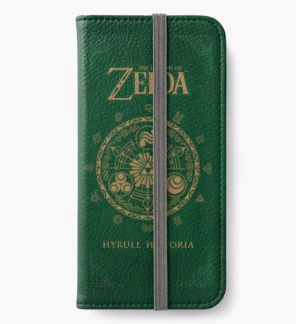 Hyrule Historia Phone Wallet iPhone Wallet/Case/Skin
