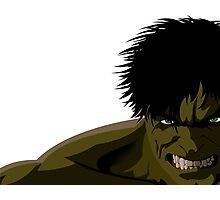 Hulk Photographic Print