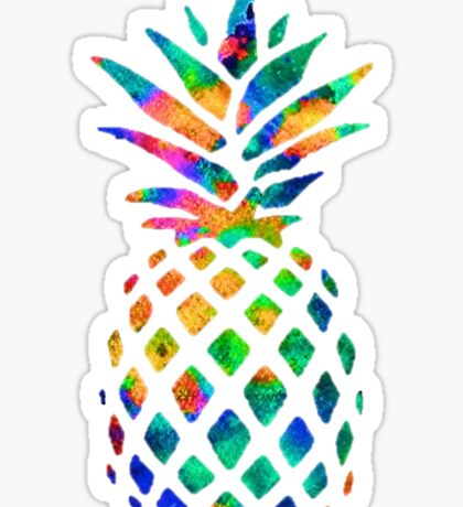 love for pineapples Sticker
