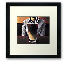 Requiem for Caffeine Framed Print