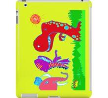 Sizzlining Fun in Scorching Sun  iPad Case/Skin