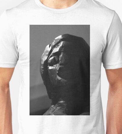 Wood Sculpture Head Unisex T-Shirt