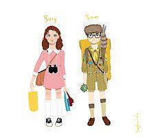 Suzy and Sam Photographic Print