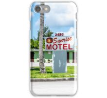 Sunrise Motel 1941 iPhone Case/Skin