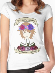 Chihiro Fujisaki Protection Squad Women's Fitted Scoop T-Shirt