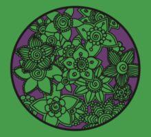 Flower circle Kids Tee