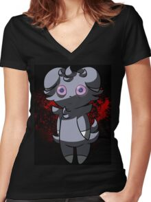 Espurr Women's Fitted V-Neck T-Shirt