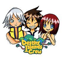 Destiny Islands trio Photographic Print