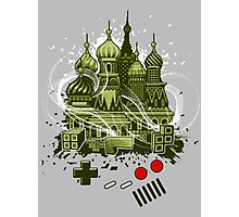 Tetris Gameboy Tribute to Alexey Photographic Print