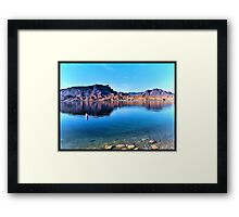Colorado River Morning Framed Print