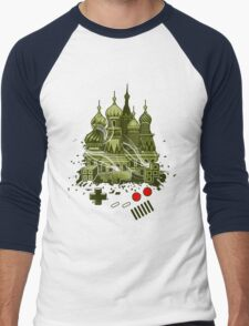 Tetris Gameboy Tribute to Alexey Men's Baseball ¾ T-Shirt