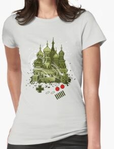 Tetris Gameboy Tribute to Alexey Womens Fitted T-Shirt