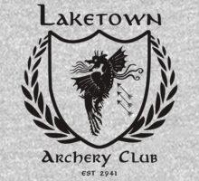 Laketown Archery Club (Black) Kids Tee