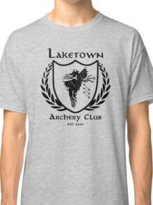 Laketown Archery Club (Black) Classic T-Shirt