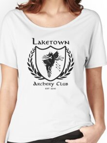 Laketown Archery Club (Black) Women's Relaxed Fit T-Shirt