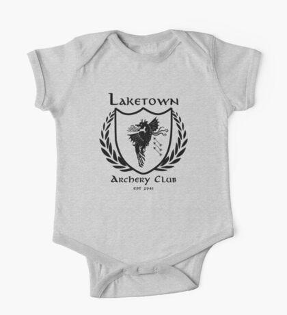 Laketown Archery Club (Black) One Piece - Short Sleeve