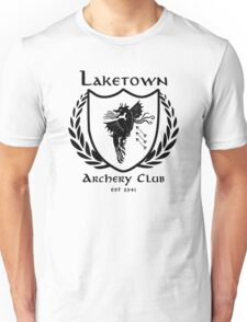Laketown Archery Club (Black) Unisex T-Shirt