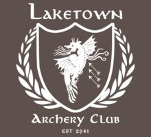 Laketown Archery Club (White) Baby Tee